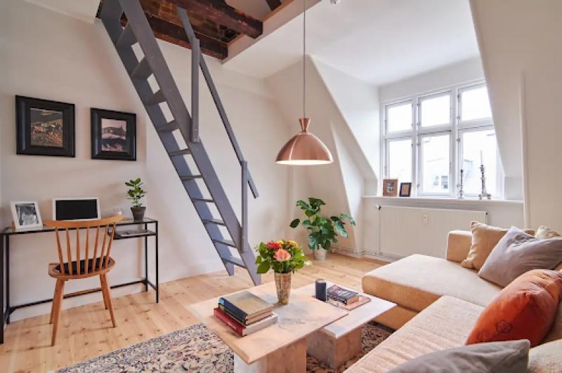 airbnb in copenhagen Meatpacking District
