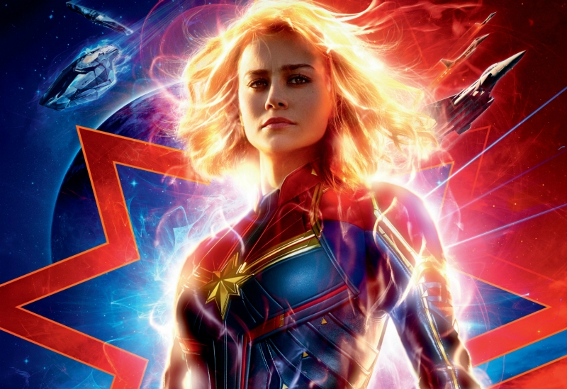Captain Marvel in Singapore