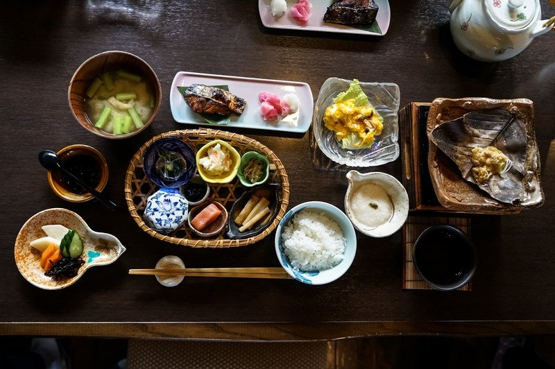 breakfast around the world: japan