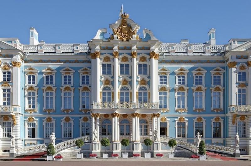 Rococo Russia Saint Petersburg