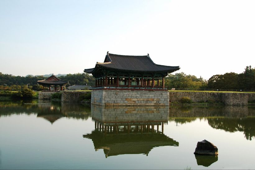 Donggung Pae and Wolji Pond, Gyeongju