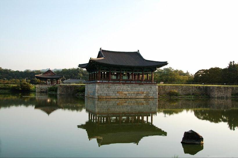 Donggung Pae and Wolji Pond, Gyeongju
