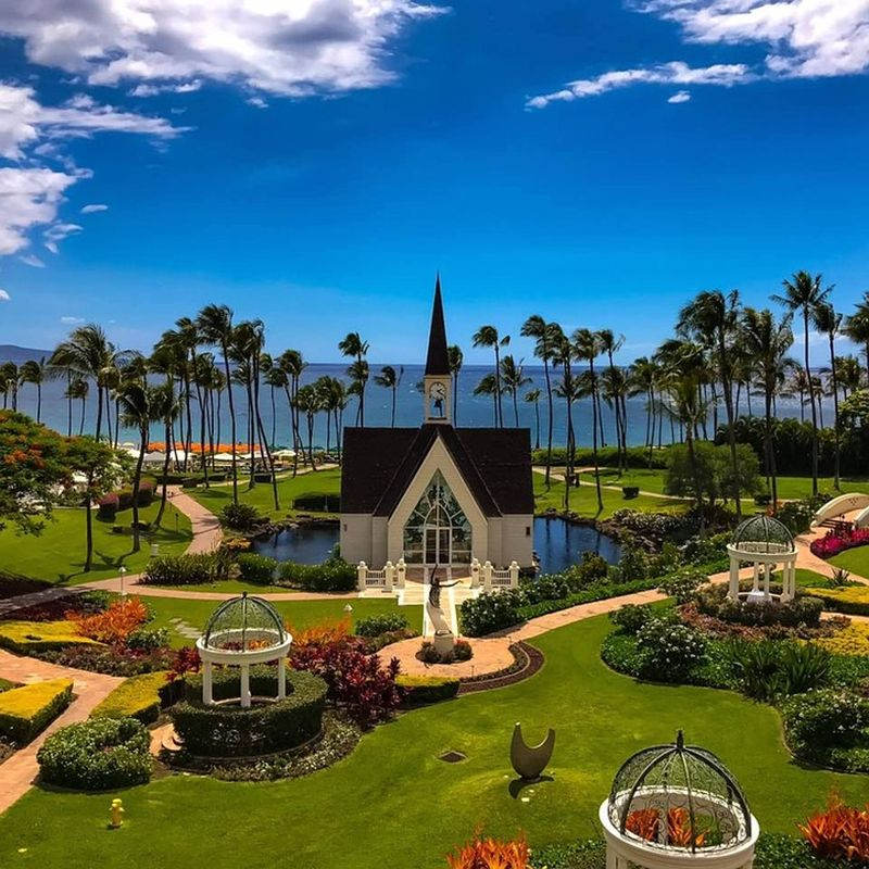 Seaside Chapel in Grand Wailea Resort, Maui, Hawaii